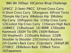 30 day wrap challenge